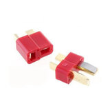 10 Par Fireproof T Plug Stik For RC ESC Batteri