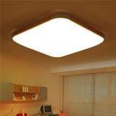 48W 39 * 39CMリモートコントロールモダンな調光LED天井照明ベッドマウントキッチンのための表面実装