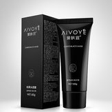 AIVOYE Blackhead Remover Deep Cleansing Acne Pore Strip Lama Facial Peel Off Máscara 60g