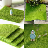 30 * 30cm Artificial Faux Garden Turf Grass Lawn Moss Miniature Craft Ecology Decor