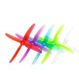 2 paires GEMFAN 51455 Hurricane X hélice à 4 pales trou de montage de 5mm pour RC FPV Racing Drone