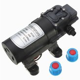 تيار منتظم 24V 60W 5L / Min Motor High الضغط Micro Water Diaphragm Water Self Pump