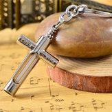 Крест брелка металла с 15years самосветящегося 3x22.5mm трития