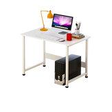 Computer Desk Large Desktop Desktop Single Board Table Learning Computer Desk Modern Home Desk Bedroom Writing Table for Home Office