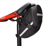 Waterproof Bike Bicycle Saddle Bags Sport Cycling Seat Tail Pouch Package Bag Reflective Tape
