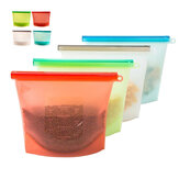 Reusable Silicone Food Fresh Bags Storage Sealed Containers untuk Kulkas Kitchen Vacuum Bag