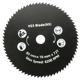 85mm 72 Teeth HSS Circular Saw Blade Rotary Cutting Discs Wheel For Rotary Tools