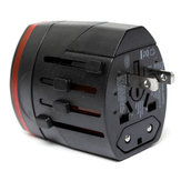Universal Travel Wall Charger Adapter AC Adapter Converter Power Plug AU/UK/US/EU Dual USB Ports