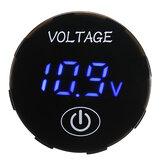 5V-48V لمس شاشة LED رقمي الفولتميتر البطارية سعة لوحة عداد الجهد مراقب طقم لوحة التبديل مع منشار ثقب iameter