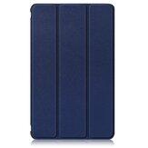 8インチHuawei MatePad T8タブレット用の3つ折りPUレザー折りたたみスタンドケースカバー
