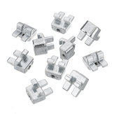 Machifit 10pcs 3030/4040/4545 Aluminum Fittings Extrusions Grid Fixed Head for Aluminum Extrusions Profiles