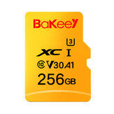 Bakeey BK-TF1 Memory TF Flash Card 256GB U3 A1 V30 Micro SDHC Card SDXC Card with Card Adapter For Smartphone Tablet Switch Speaker Drone Car DVR GPS Camera