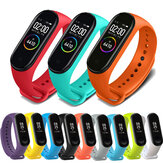 Bakeey Colorful TPE Pure Watch حزام Watch حزام استبدال ل Xiaomi Miband 4 غير أصلي