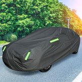 XXL 2 Layer Outdoor FUll Car Cover Waterproof Snow Dust Sun UV Shade Cover Foldable  For Sedan Saloon