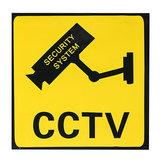 Überwachungskamera Aufkleber Warnzeichen Sicherheitssystem Monitor Aufkleber