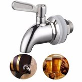 Stainless Steel Faucet Tap for 15-23mm Home Brew Barrel Fermenter Wine Beer Fridge Kegs