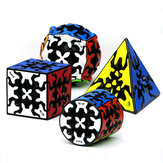 Qiyi Gear 3x3x3 Magic Cube Pyramid Cylinder Sphere Speed Gear Cubes Professionelles Cubo Magico Anti-Stress-Spielzeug