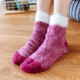 Kadın Sıcak Kalınlaşma Polar Astar Kaymaz Çorap