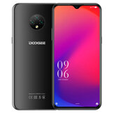DOOGEE X95 Global Version 6,52 Zoll Android 10 GO 4350mAh Face Unlock 13MP Dreifach-Rückfahrkamera 2 GB 16GB MT6737V 4G Smartphone