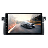 9 Inch 2DIN Voor Android 8.0 Auto Stereo Radio 1 + 16G WiFi GPS Sat Navigatie OBD DAB met 4LED Camera Voor BMW E46 3 Serie