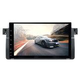 9 Pollici 2DIN per Android 8.0 Autoradio Radio 1 + 16G WiFi GPS Navigatore satellitare OBD DAB con 4LED fotografica Per BMW E46 Serie 3