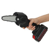 24V 1200W 4Inch One-Hand Saw Electric Chain Saw Woodworking Wood Cutter W/ 0/1/2pcs Battery