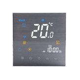 Controlador inteligente de temperatura WiFi Calefacción de piso Plomería Chimenea Control de temperatura Soporte Aleax Asistente de Google