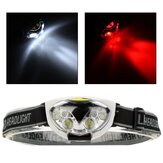 XANES® 1200LM 6LED 3*AAA HeadLamp Waterproof Outdoor Camping Hiking Cycling Fishing Light