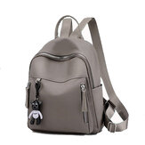 Large Capacity Backpack 35L Simple Style Durable Outdoors Waterproof Women Laptop Bag For Home Office School