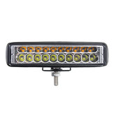 6inch 80W 20 LED 12V Work Light Flood Beam Driving Fog Headlights Lamp Bar Motorcycle Car SUV Off-road