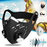 Anty-smogowa maska rowerowa Wiatroodporna, pyłoszczelna i ciepła maska z aktywowanym węglem