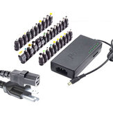 34Pcs Universal Power Laptop  Adapter 96W 12V To 24V Adjustable Portable Charger For Dell Hp Notebook
