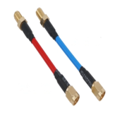 Aomway CBA004 80mm FPV Antenne Extension Cord Wire Prolonging Adapter SMA / RP-SMA Mannelijk naar SMA Vrouw