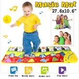 Unisex Play Keyboard Musical Music Singing Academia Carpet Mat Best Kids Baby Gift