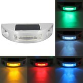 LED High-speed Reflective Spike Solar Powered Light Path Driveway Dock Ground Step Lamp IP68