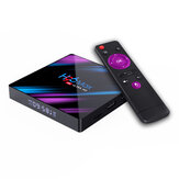 H96 MAX RK3318 4 GB RAM 64GB ROM 5G WIFI Bluetooth 4.0 Android 10.0 4K VP9 H.265 TV-Box-Unterstützung Youtube 4K