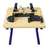 Mini table de routeur W012 de paillasse avec support Table de routeur de trimmer de table de travail du bois