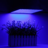 15W 225LED Grow Light Blue Lamp Ultrathin Panel Hydroponics Indoor Planta Veg Flower AC85-265V