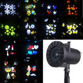 12 modelli 4 LED proiettore Light Stage Movimento leggero Rotante Spotlight Christmas Halloween