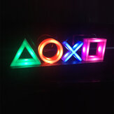 USB неоновый свет игровой значок Лампа голосовое управление с регулируемой яркостью бар клуб KTV настенный бар атмосфера декоративное комме