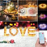 5M / 10M / 20M Musikkaktivert LED String Light Vanntett Utendørs Fairy Lamp Party Halloween Juletre Hagedekor