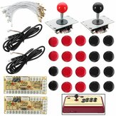 Joystick Push Button Zero Delay Arcade Game Kit DIY para MAME