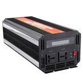 6000W Peak LCD Solar Power Inverter DC 12V / 24V ke AC 110V / 220V Modified Sine Wave