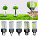 E27 E26 E12 E14 B22 12W 5730 SMD Non-Dimmable LED Corn ضوء لمبة المصباح AC110-265V