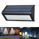 6W 48 LED Solar Powered 4 Modları 1000LM Radar Sensör Wall Street Işık Su Geçirmez IP65 Outdoor Yard