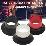 Bass Drum Enhancer Met Bass Drum Port Hole Protector Voor Drumkit Set Percussie Instrument Onderdelen