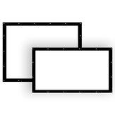 150Inch 16:9 4:3 HD Projector Display Screen Football Home Film Indoor Theater