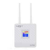 4G LTE CPE Router Wireless WiFi Repeater 150 Mbps Hotspot SIM Card Modem LAN con 2 antenne Supporto per 20 utenti