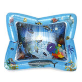 PVC Air Inflatable Swimming Air Mattress Water Cushion Baby Kids Infant Toddlers Tummy Water Play Fun Toys Ice Mat Pad