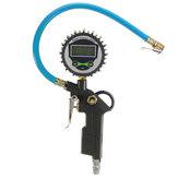 Auto Voertuig Digitale Luchtdrukmeter Vrachtwagen LCD Inflator Meter Dial Meter Tester